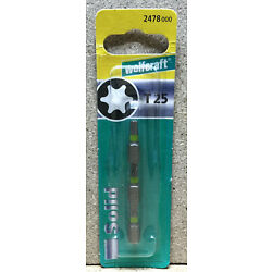 Wolfcraft 3 Bits Solid  TOX T 25  2478000
