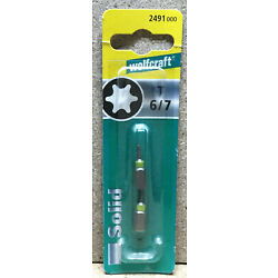 Wolfcraft 2 Bits Solid  TOX    T 6 / 7   2491000