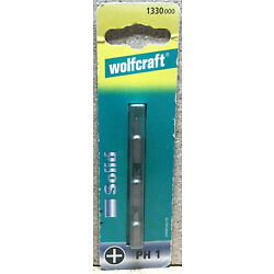 Wolfcraft 3 Bits Solid PH 1  1330000