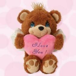 Precious Moments Angel Teddy Bear With I Love You! Message 9 H