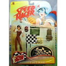 ReSaurus Company Speed Racer Trixie Action Figure 1998