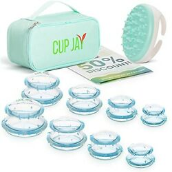 Silicone Cupping Therapy Set(8 Pieces) - Cellulite Reduction - Body Massage