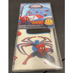 Marvel Ultimate Spider-man 22 Peel And Stick Wall Decals NIP
