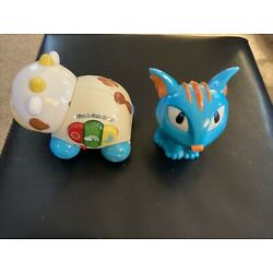 VTech Kiss and Care Cow  And Hasbro  Talking Dragon