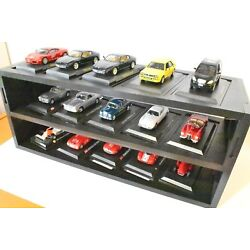 Display Notice showcase Models Car Scale 1:43 Car Model Miniatures White