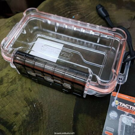 img-WATER RESISTANT BOX FOR FIRE LIGHTING KIT PAPERS SURVIVAL BUSHCRAFT FISHING CAMP