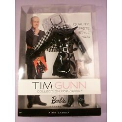 Barbie Tim Gunn Pink Label Collection Black Trench Coat New 2012