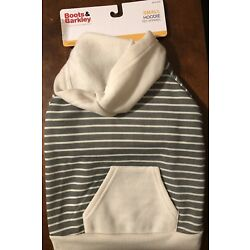 Boots & Barkley striped lightweight bog hoodie small (up to 20lbs)