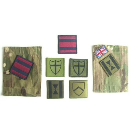 img-ROYAL ENGINEER BRIGADE MTP PANEL AFM TRF BADGE DZ PATCH BRITISH ARMY RE SAPPERS