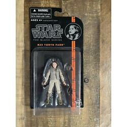 Star Wars The Black Series 3.75 #23 Toryn Farr.Never opened.