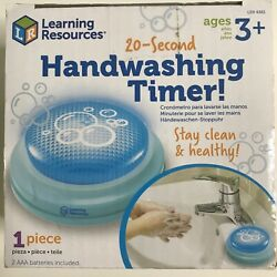 Learning Resources Kids 20 Second Handwashing Timer Stay Clean and Healthy