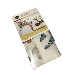 RoomMates Floral Peel And Stick Wall Decals RMK3262SCS Lisa Audit Garden Bouquet