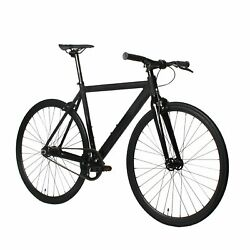 Golden Cycles 700c Fixie Fixed Gear alloy Frame Bicycle Matte Black:55 59 63 cm