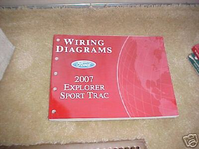 2007 ford explorer sport trac wiring diagram manual ebay. Black Bedroom Furniture Sets. Home Design Ideas