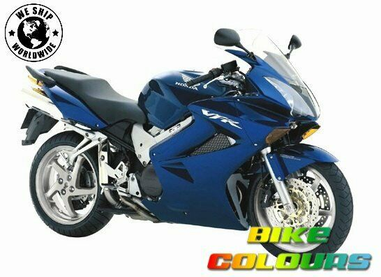 honda touch up paint 2003 05 vfr800i heron blue ebay