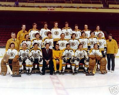 Boston Bruins 1972-73 8x10 Team Photo | eBay