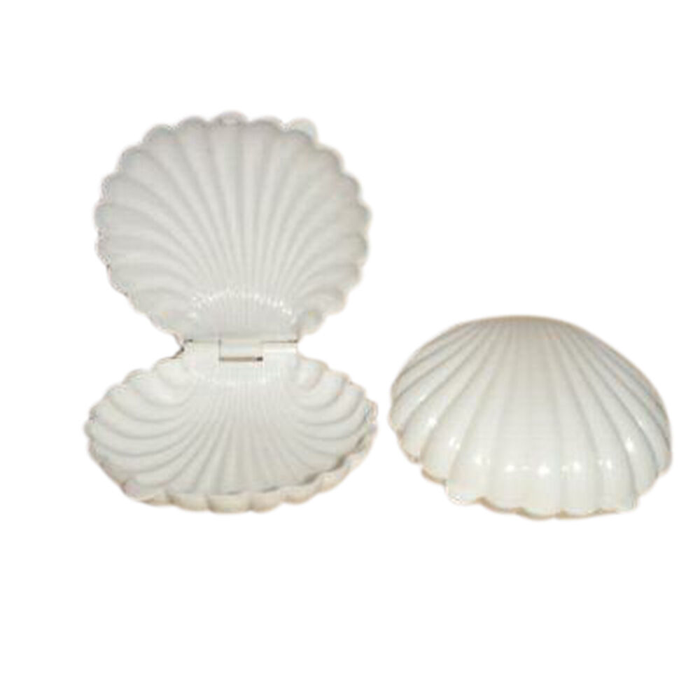 Medium Clear Favor Boxes : Extra large plastic shell candy boxes favors white