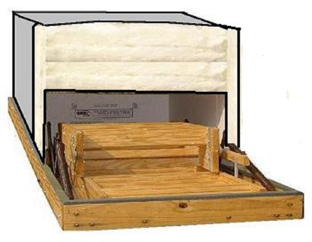 Attic Stair Cover Size 22 Quot X54 Quot Reflective Insul Kit Ebay
