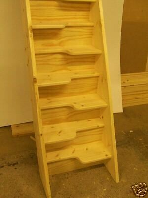 Wooden Closed Plan Space Saver Stairs Made To Measure Ebay