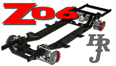 Rolling Chassis Corvette Z06 Air Ride 55 56 57 Chevy | eBay