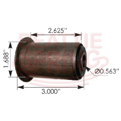 Leaf Spring Bushings By Size