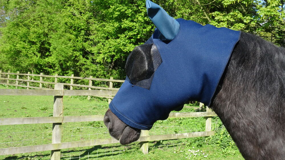 Horse Face Cover Fly Mask All Sizes Sweet Itch Ebay