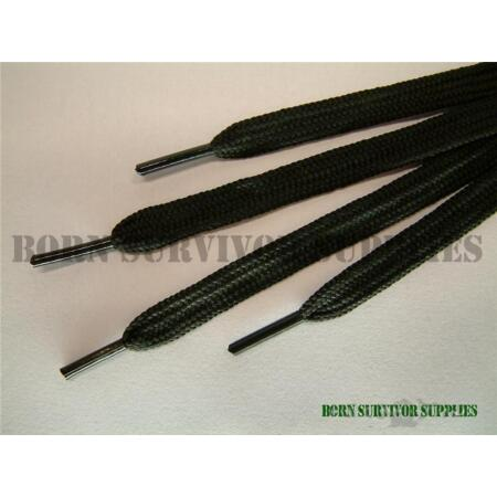 img-BUY in BULK 10 x BLACK ARMY BOOT LACES Cadets Police PCSO Security Patrol Boots