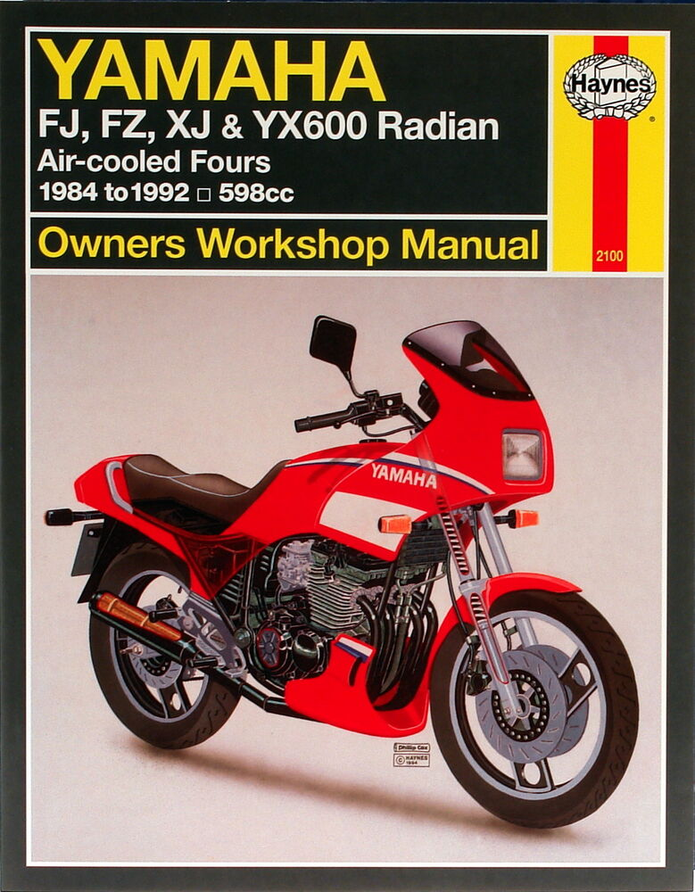 haynes manual 2100 yamaha fj600 fz600 xj600 yx600. Black Bedroom Furniture Sets. Home Design Ideas