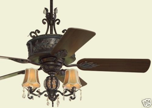 Elegant Ceiling Fans : New quot french country elegant ceiling fan ebay