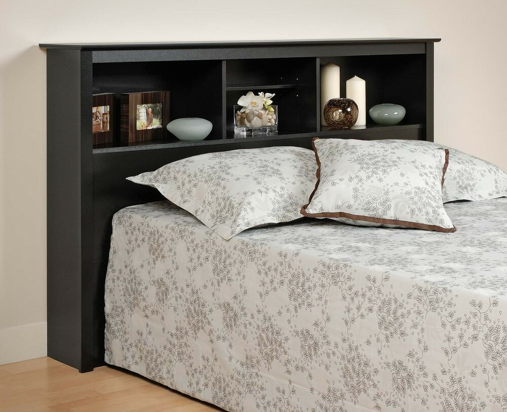 Sonoma Double/Full/Queen Size Bed Bookcase Headboard