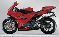 BENELLI TOUCH UP PAINT KIT TORNADO 900S 900RS ETC RED.