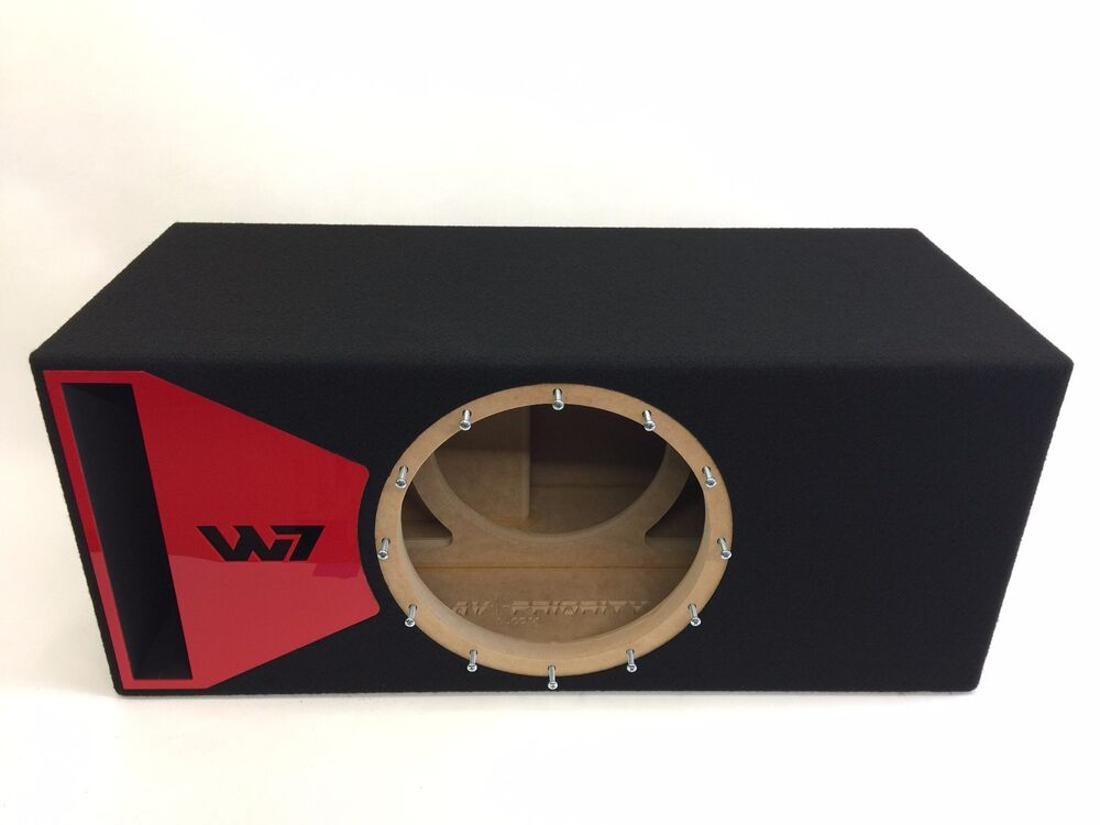 jl audio 12w7 ported subwoofer box special edition ebay