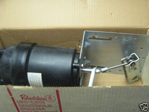 Right Angle Actuator : Robertshaw mp right angle mount damper actuator ebay