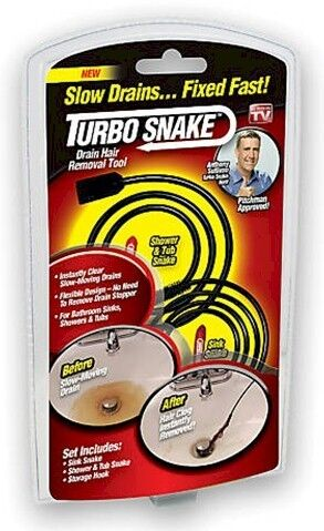 Turbo Snake, Hair removal drain cleaner | eBay