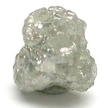 1+ Carats SILVER Natural Uncut Raw ROUGH DIAMONDS