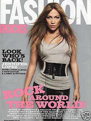 J Lo Jennifer Lopez Hot Hot Fashion Rocks Magazine Ebay