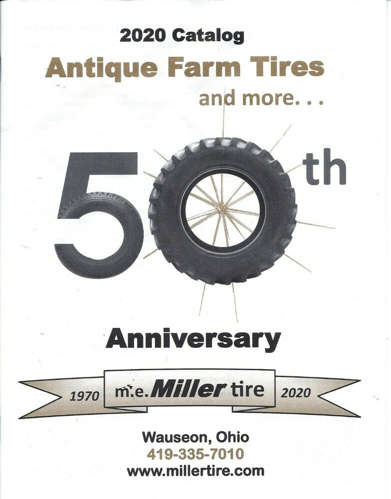 miller tire antique farm tractor tire catalog ebay