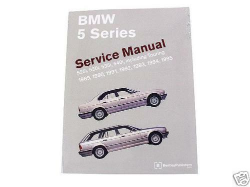 bmw e34 bentley repair manual 5 series 1988 1996 ebay. Black Bedroom Furniture Sets. Home Design Ideas