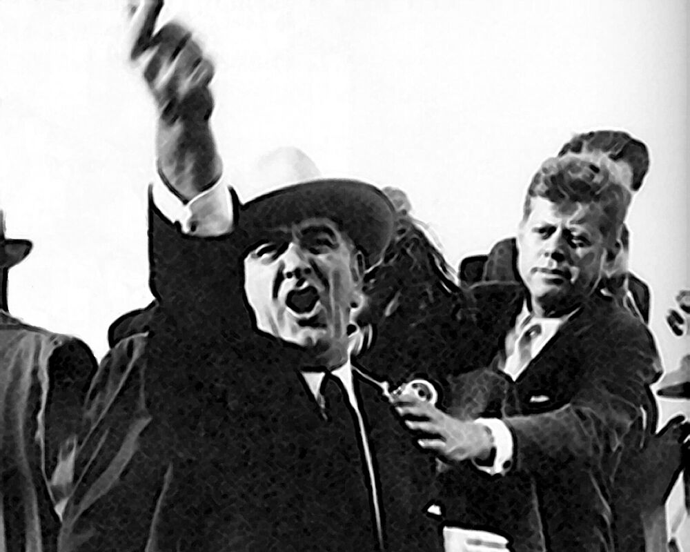 my comparison of jfk with lbj Jackie kennedy believed lyndon b johnson was behind the 1963 assassination of her husband, president john f kennedy.