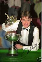 STEPHEN HENDRY snooker champion personally signed 10x8
