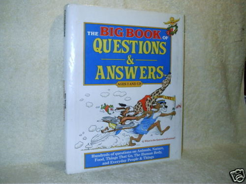 Big Book Of Questions & Answers Children Book ...