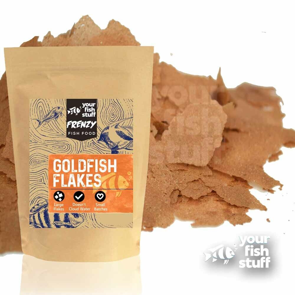 Yfs goldfish flakes bulk aquarium fish food 1 2 lb ebay for Aquarium fish food