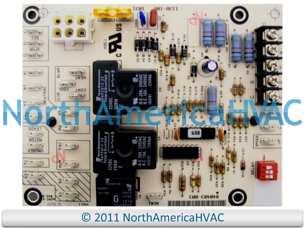 honeywell furnace fan control circuit board st9120c2010 ebay. Black Bedroom Furniture Sets. Home Design Ideas