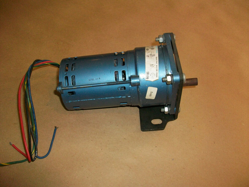 Robbins meyers electric motor fh3p 230v 3 phase ebay for 3 phase dc motor