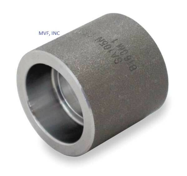 Forged steel coupling quot socket weld a fs ebay