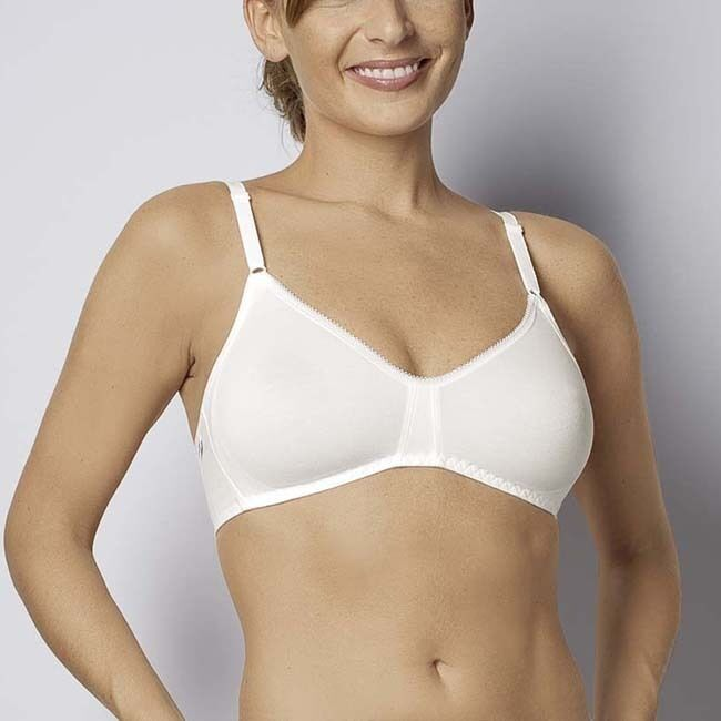 Sloggi Basic Bra White Bra Non Wired Bra 32 38 A C New Ebay