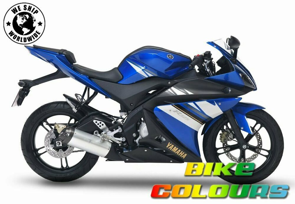 Yamaha R Blue Touch Up Paint