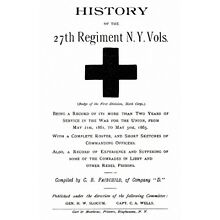Civil War History of the 27th New York Volunteers NY
