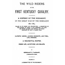 Civil War History of the 1st Kentucky Cavalry Union KY