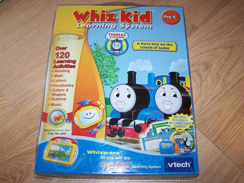 Vtech Whiz Kid Learning System Whizware Thomas Train NW | eBay